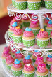canvas print picture - cupcakes tier