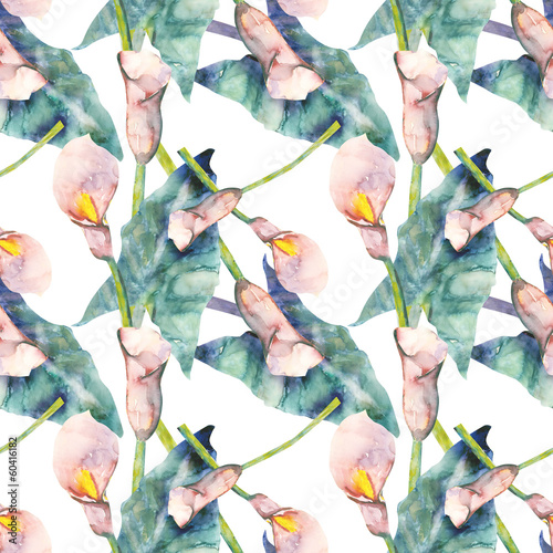 Callas seamless pattern - 60416182