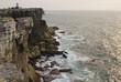 Cliffs of the peninsula of Peniche