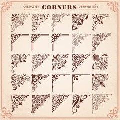 Vintage Design Elements Corners