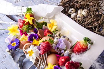 Frohe Ostern: Einladung zum Brunch