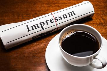 impressum newspaper (german)