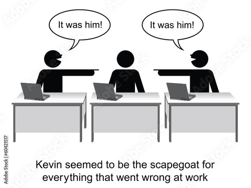 Kevin got the blame for everything cartoon