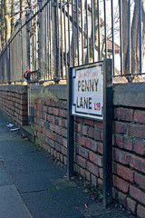 Penny Lane, Liverpool, UK