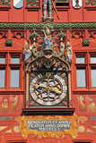 Clock on the Basel Town Hall