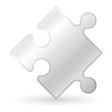 metallic puzzle vector illustration