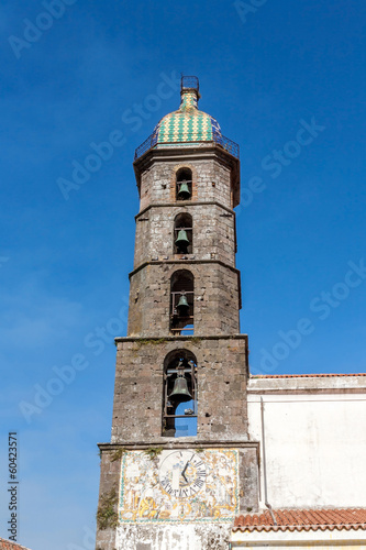 bell tower of roccamonfina