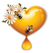 Honey Heart Icon