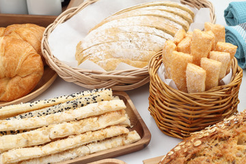 puff Pastry and bread