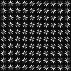 Black and White Decorative Swirl Design Textured Fabric Backgrou
