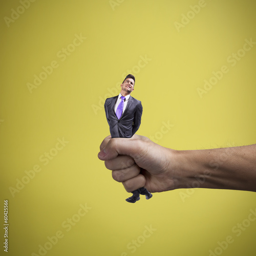 Squeezing the businessman