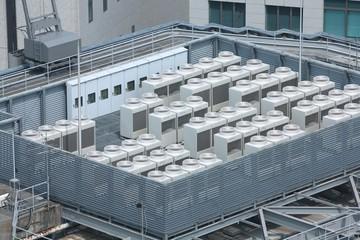 Industrial air conditioning in Kobe, Japan