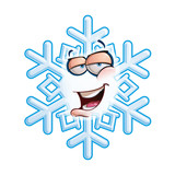 SnowFlake Emoticon - Hey