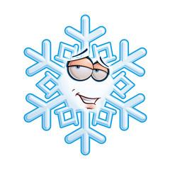 SnowFlake Emoticon - Romantic.