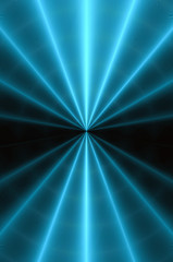 Radial glowing abstract background C.