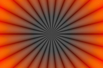 Radial glowing abstract background H.