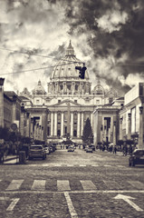 Saint Peters basilica Rome