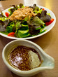 tuna salad with salad dressing sauce japanese