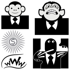 бизнес обезьяна