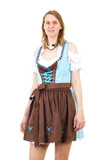 Attractive woman ready for Bavarian Oktoberfest