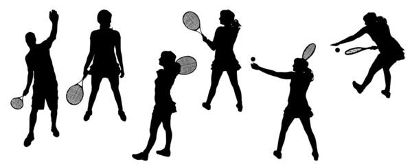 Silhouette sport