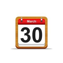 30 de marzo.