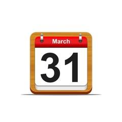 31 de marzo.