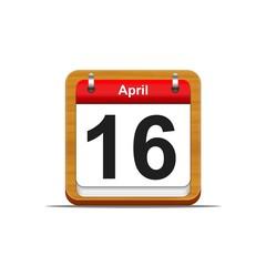 16 de abril.