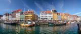 Panorama von Nyhavn in Kopenhagen