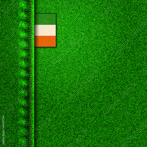 irish denim background