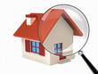 Isolated stylized little house