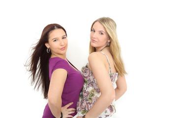 Zwei junge Damen