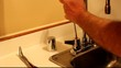 repairing the sink handle