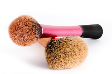 Two make up brushes