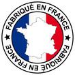 """Stempel """" Fabriqué en France """""""