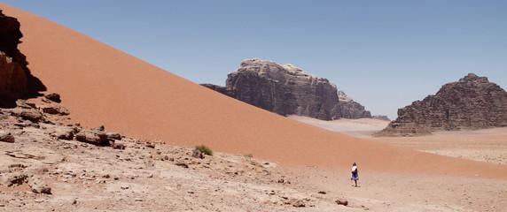 Paseando por el desierto