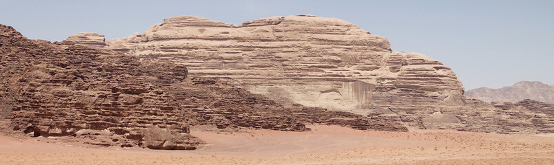 Paisajes del Desierto de Wadi Rum