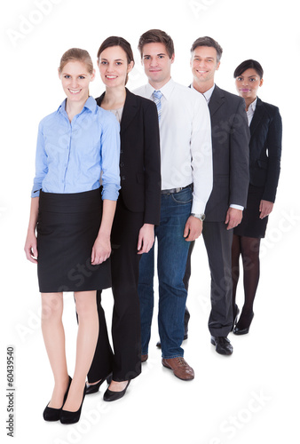 Group Of Businesspeople Standing