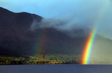 Lochness in Highlands, Scotland, United Kingdom