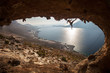 Rock climbers at Kalymnos Island, Greece