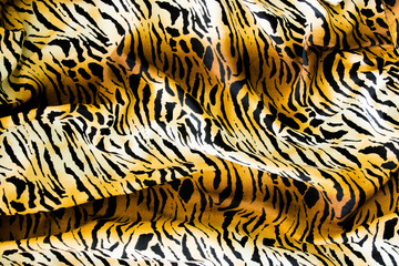 Tiger textile, piece of clothes.