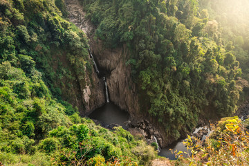 Haew Narok, Deep Forest beautifulwaterfall at Thailand