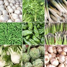 France - marché aux légumes
