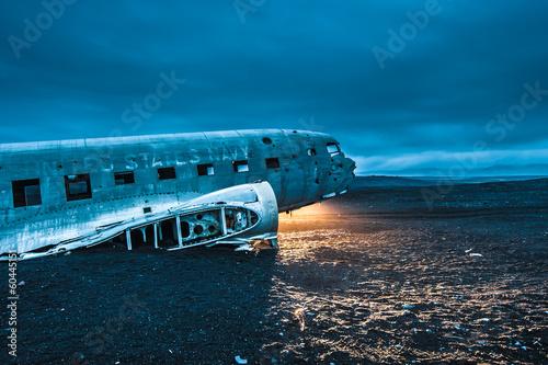 Dakota plane wreckage, Iceland