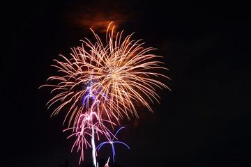 Feuerwerk, Herbstmesse Minden