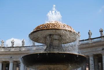 San pietro  , fontana , Roma