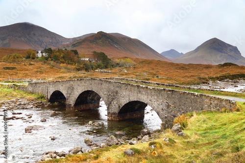 Bridge at Sligachan, Isle of Skye , Scotland - 60447997