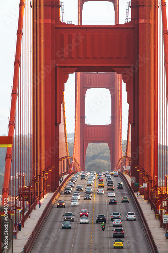 Plakat Golden Gate Brücke in San Francisco