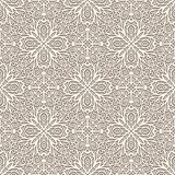 Ornamental lace background, seamless pattern