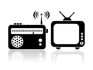Tv and radio icon